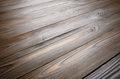Natural dark wooden textured background of flat layed planks with weathered vintage oiled surface - PhotoDune Item for Sale