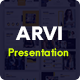 Arvi - Corporate Business PowerPoint Presentation Template - GraphicRiver Item for Sale
