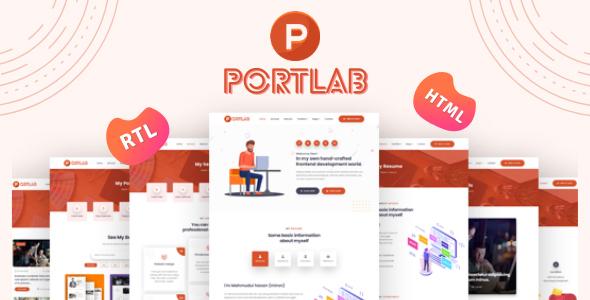 Portlab - Personal Portfolio