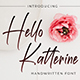 Hello Katterine - Handwritten Font - GraphicRiver Item for Sale
