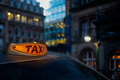 Glowing London Taxi Light - PhotoDune Item for Sale