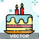 16 Birthday Party Icon - GraphicRiver Item for Sale