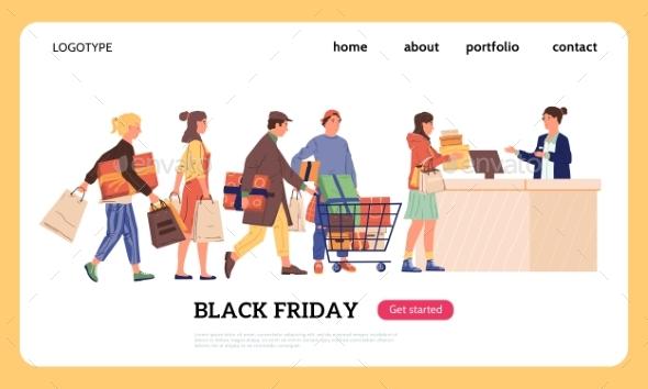 Shopping Landing Page