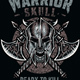 Warrior Skull - GraphicRiver Item for Sale