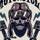 Vintage Rider Skull - GraphicRiver Item for Sale