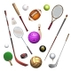 Sport Inventory Icons - GraphicRiver Item for Sale