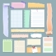 Scrapbooking Paper Memos - GraphicRiver Item for Sale
