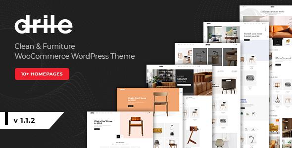 Review: Drile - Furniture WooCommerce WordPress Theme free download Review: Drile - Furniture WooCommerce WordPress Theme nulled Review: Drile - Furniture WooCommerce WordPress Theme