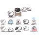 Sheep Or Lambs Vector Character Set. - GraphicRiver Item for Sale