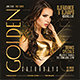 Golden Night Party Flyer - GraphicRiver Item for Sale