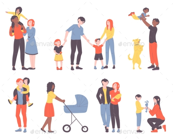 Families Spending Time Together