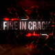 Fire In Crack Text Reveal - VideoHive Item for Sale