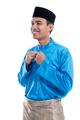 man put his clothes for eid mubarak celebration - PhotoDune Item for Sale
