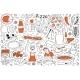 Pizza Doodle Set - GraphicRiver Item for Sale