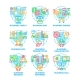 Business Work Set Icons Vector Color Illustrations - GraphicRiver Item for Sale