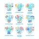 Business Occupation Set Vector Color Illustrations - GraphicRiver Item for Sale