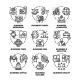 Business Occupation Set Vector Black Illustration - GraphicRiver Item for Sale