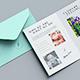 US Size Bifold Brochure / Invitation Mockup v1 - GraphicRiver Item for Sale