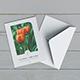 US Size Bifold Brochure / Invitation Mockup v2 - GraphicRiver Item for Sale