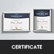 Modern Award Certificate - GraphicRiver Item for Sale