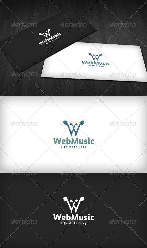 Web Music Logo