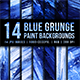 Blue Grunge Paint Backgrounds - GraphicRiver Item for Sale