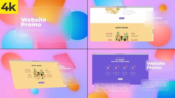 Colorful Website Promo