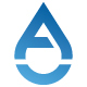 A Letter Water Drop Logo - GraphicRiver Item for Sale