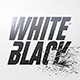 White And Black Logo Reveal - VideoHive Item for Sale