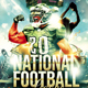 American National Football League Sports Flyer - GraphicRiver Item for Sale