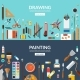 Drawing and Painting - GraphicRiver Item for Sale