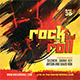 Rock and Roll Flyer - GraphicRiver Item for Sale
