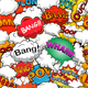 Colorful Comics Seamless Background Pattern - GraphicRiver Item for Sale