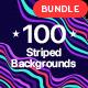 Striped Background Bundle - GraphicRiver Item for Sale