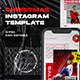 Christmas Hype Instagram Template - GraphicRiver Item for Sale