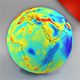 Earth Gravity Map - 3DOcean Item for Sale