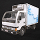 Light Truck Refrigerated - Low Poly - 3DOcean Item for Sale