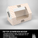 Flip Top Loaf Box with Window Packaging Mockup - GraphicRiver Item for Sale