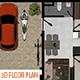 3D FLOOR PLAN KIT ( VOL 1) - GraphicRiver Item for Sale