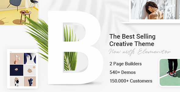 Bridge – Creative Multipurpose WordPress Theme, Gobase64