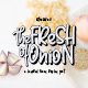Fresh Onion // Layered Funny Display Font - GraphicRiver Item for Sale