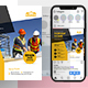 Construction Social Media Post Template - GraphicRiver Item for Sale