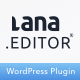 Lana Editor - Drag & Drop Page Builder for WordPress - CodeCanyon Item for Sale