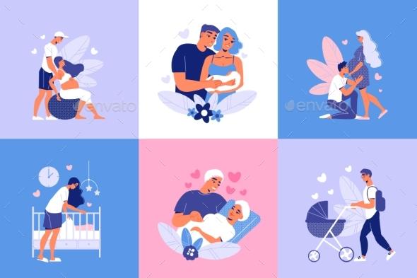 Motherhood Pregnancy Design Concept