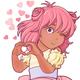 Kawaii Girl Showing Heart Shape Gesture - GraphicRiver Item for Sale