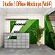 Studio / Office Mockups [Vol4] - GraphicRiver Item for Sale