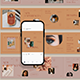 Natural Cosmetic Carousel Instagram Post - GraphicRiver Item for Sale