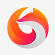 Abstract Colourful Circular Fox Logo - GraphicRiver Item for Sale