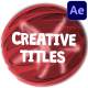 Creative Cartoon Titles | After Effects - VideoHive Item for Sale