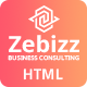 Zebizz - Business Consulting HTML Template - ThemeForest Item for Sale